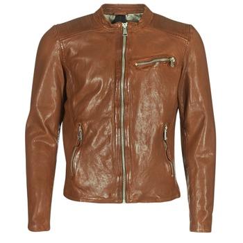 textil Herre Jakker i læder / imiteret læder Redskins CROSS Cognac