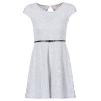 textil Dame Korte kjoler Moony Mood IKIMI Hvid / Marineblå