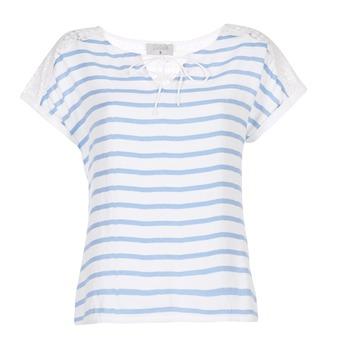 textil Dame Toppe / Bluser Casual Attitude IYUREOL Hvid / Blå