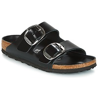 Sko Dame Tøfler Birkenstock ARIZONA BIG BUCKLE Sort