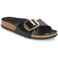 Sko Dame Tøfler Birkenstock MADRID BIG BUCKLE Sort
