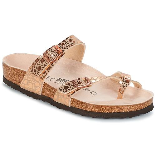 4fdee5291e73 Sko Dame Flip flops Birkenstock MAYARI Pink