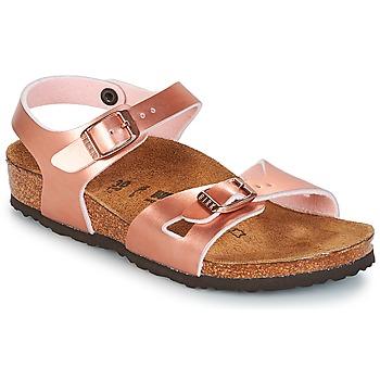 Sko Pige Sandaler Birkenstock RIO Pink