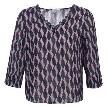 textil Dame Toppe / Bluser Casual Attitude IDENOQO Marineblå