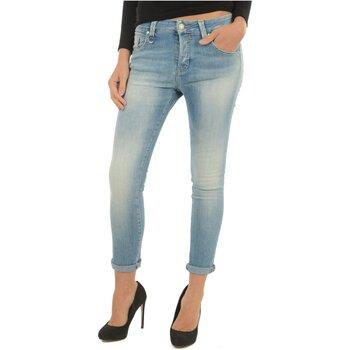 textil Dame Jeans - boyfriend Meltin'pot LAKITA D1669 UK420 Blå