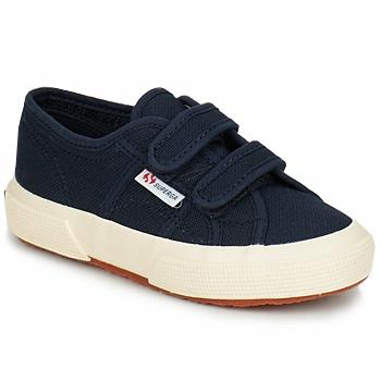 Sko Børn Lave sneakers Superga 2750 STRAP Marineblå