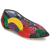 Sko Dame Ballerinaer Irregular Choice BANANA BOAT Sort