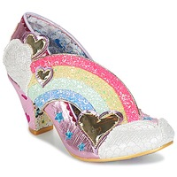Sko Dame Pumps Irregular Choice SUMMER OF LOVE Pink