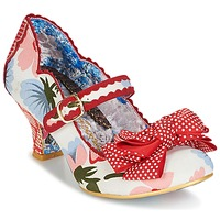 Sko Dame Pumps Irregular Choice BALMY NIGHTS Hvid / Rød