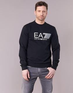 textil Herre Sweatshirts Emporio Armani EA7 TRAIN VISIBILITY Sort