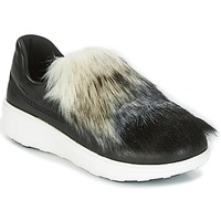 Sko Dame Slip-on FitFlop LOAFER Sort