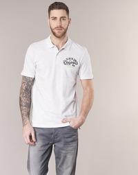 textil Herre Polo-t-shirts m. korte ærmer Jack & Jones JORTRAST Hvid