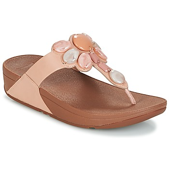 Sko Dame Flip flops FitFlop HONEYBEE JEWELLED TOE Pink