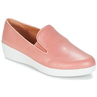 Sko Dame Slip-on FitFlop SUPERSKATE Pink