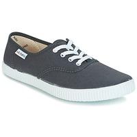 Sko Lave sneakers Victoria INGLESA LONA Antracit