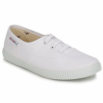 Sko Børn Lave sneakers Victoria INGLESA LONA KID Hvid