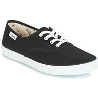 Sko Lave sneakers Victoria INGLESA LONA Sort