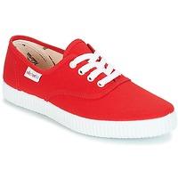 Sko Lave sneakers Victoria INGLESA LONA Rød