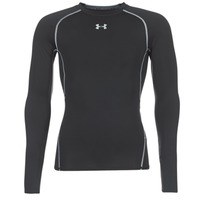 textil Herre Langærmede T-shirts Under Armour LS COMPRESSION Sort