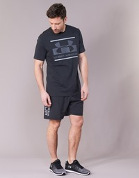 textil Herre Shorts Under Armour WOVEN GRAPHIC WORDMARK SHORT Sort