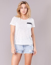 textil Dame T-shirts m. korte ærmer Yurban ITNOLA Beige