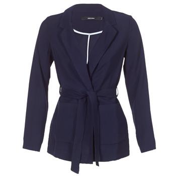 textil Dame Jakker / Blazere Vero Moda VMELKE Marineblå