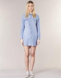 textil Dame Korte kjoler Vero Moda VMSILLA Blå / Lys