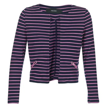 textil Dame Jakker / Blazere Vero Moda VMULA Marineblå / Pink