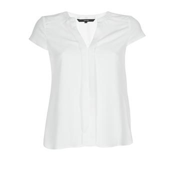 textil Dame Toppe / Bluser Vero Moda VMTONI Hvid