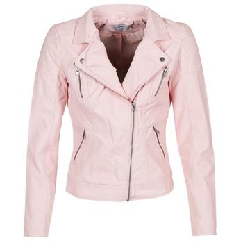 textil Dame Jakker i læder / imiteret læder Only STEADY Pink