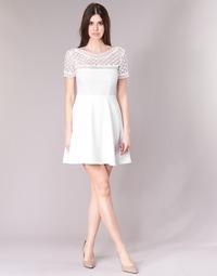 textil Dame Korte kjoler Betty London INLOVE Hvid