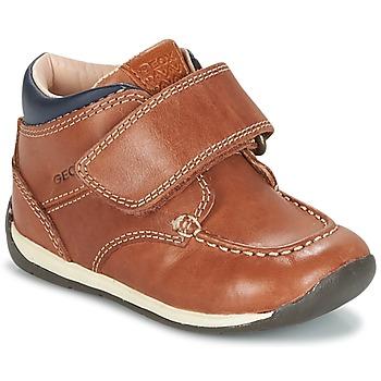 Sko Dreng Lave sneakers Geox B EACH BOY Brun