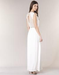 textil Dame Lange kjoler Betty London ILOVEYOU Hvid