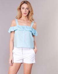 textil Dame Toppe / Bluser Moony Mood IFARANDOL Blå