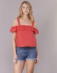 textil Dame Toppe / Bluser Moony Mood IFARANDOL Rød