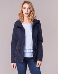 textil Dame Parkaer Only NEW KATE Marineblå