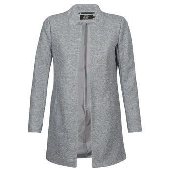 textil Dame Frakker Only SOHO Grå