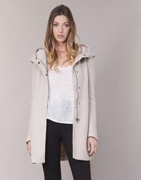 textil Dame Frakker Only SEDONA Beige