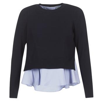 textil Dame Pullovere Only LATISHA Marineblå