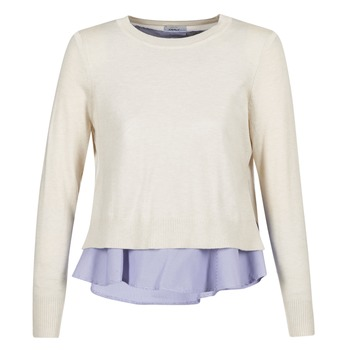 textil Dame Pullovere Only LATISHA Beige / Blå
