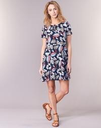 textil Dame Korte kjoler Casual Attitude IYURTOLAL Blå