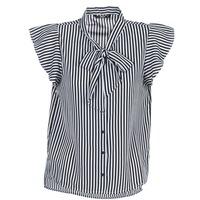 textil Dame Toppe / Bluser Only ELENA Sort / Hvid