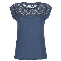 textil Dame T-shirts m. korte ærmer Only NICOLE Marineblå