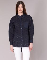 textil Dame Skjorter / Skjortebluser Only IRMA Marineblå