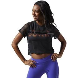 textil Dame T-shirts m. korte ærmer Reebok Sport Cardio Tee Sort