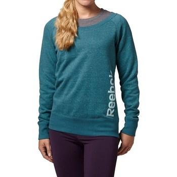 textil Dame Sweatshirts Reebok Sport Sel Melange Crew Grøn
