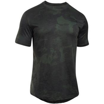 textil Herre T-shirts m. korte ærmer Under Armour UA Sportstyle Core Tee vert