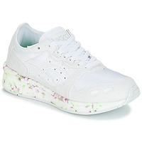 Sko Børn Lave sneakers Asics HYPER GEL-LYTE GS Hvid / Pink / Grøn