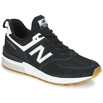 Sko Herre Lave sneakers New Balance MS574 Sort