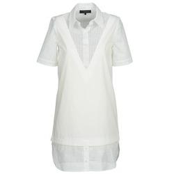textil Dame Korte kjoler American Retro CHARLOTTE Hvid